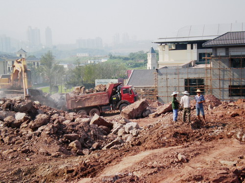 合川草街拓展工业园区土石方平基工程