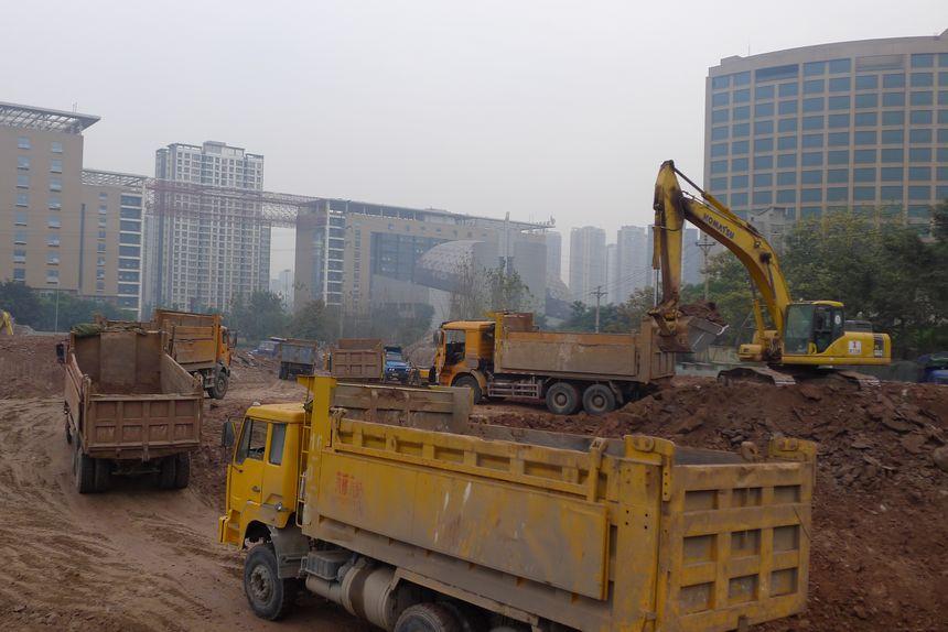 重庆科技新城金贸中心项目
